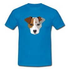 "Laden Sie das Bild in den Galerie-Viewer, T-Shirt ""Jack Russel"" - Royalblau"