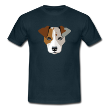 "Laden Sie das Bild in den Galerie-Viewer, T-Shirt ""Jack Russel"" - Navy"