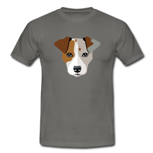 "Laden Sie das Bild in den Galerie-Viewer, T-Shirt ""Jack Russel"" - Graphite"