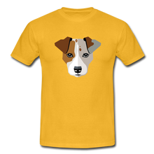 "Laden Sie das Bild in den Galerie-Viewer, T-Shirt ""Jack Russel"" - Gelb"