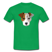 "Laden Sie das Bild in den Galerie-Viewer, T-Shirt ""Jack Russel"" - Kelly Green"