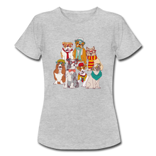 "Laden Sie das Bild in den Galerie-Viewer, T-Shirt ""Hunde"" - Grau meliert"