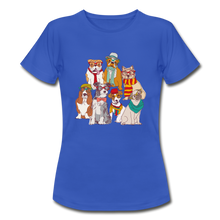 "Laden Sie das Bild in den Galerie-Viewer, T-Shirt ""Hunde"" - Royalblau"