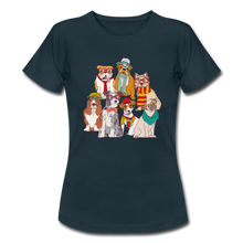 "Laden Sie das Bild in den Galerie-Viewer, T-Shirt ""Hunde"" - Navy"