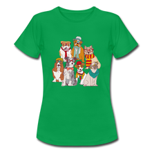 "Laden Sie das Bild in den Galerie-Viewer, T-Shirt ""Hunde"" - Kelly Green"
