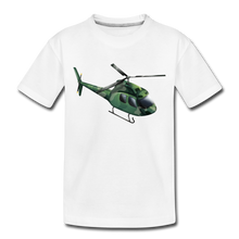 "Laden Sie das Bild in den Galerie-Viewer, Kinder Premium T-Shirt ""Helikopter"" - Weiß"