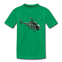 "Laden Sie das Bild in den Galerie-Viewer, Kinder Premium T-Shirt ""Helikopter"" - Kelly Green"
