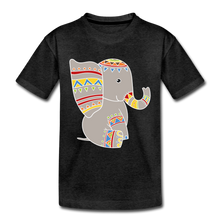 "Laden Sie das Bild in den Galerie-Viewer, Kinder Premium T-Shirt ""Elefant"" - Anthrazit"