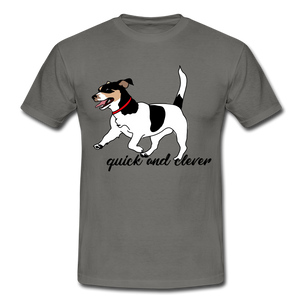 "T-Shirt ""Jack Russel"" - Graphite"