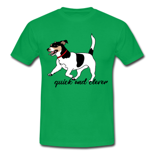 "T-Shirt ""Jack Russel"" - Kelly Green"