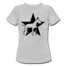 "Laden Sie das Bild in den Galerie-Viewer, T-Shirt ""Bull Terrier"" - Grau meliert"