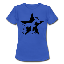 "Laden Sie das Bild in den Galerie-Viewer, T-Shirt ""Bull Terrier"" - Royalblau"