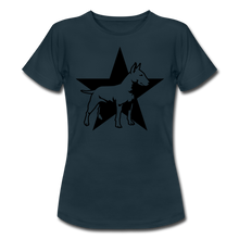 "Laden Sie das Bild in den Galerie-Viewer, T-Shirt ""Bull Terrier"" - Navy"