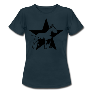 "T-Shirt ""Bull Terrier"" - Navy"