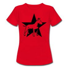 "Laden Sie das Bild in den Galerie-Viewer, T-Shirt ""Bull Terrier"" - Rot"