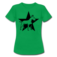"Laden Sie das Bild in den Galerie-Viewer, T-Shirt ""Bull Terrier"" - Kelly Green"