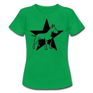 "T-Shirt ""Bull Terrier"" - Kelly Green"