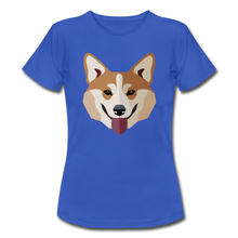 "Laden Sie das Bild in den Galerie-Viewer, T-Shirt ""Shiba Inu"" - Royalblau"