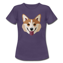 "Laden Sie das Bild in den Galerie-Viewer, T-Shirt ""Shiba Inu"" - Dunkellila"