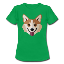 "Laden Sie das Bild in den Galerie-Viewer, T-Shirt ""Shiba Inu"" - Kelly Green"