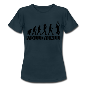"T-Shirt ""Volleyball"" - Navy"
