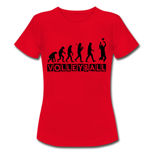 "T-Shirt ""Volleyball"" - Rot"