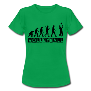 "T-Shirt ""Volleyball"" - Kelly Green"