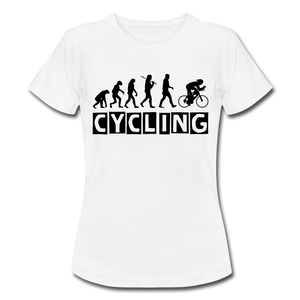 "T-Shirt ""Cycling"" - Weiß"