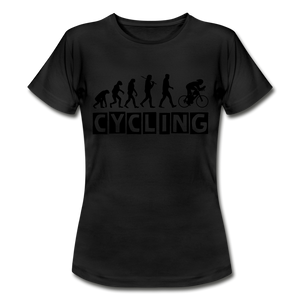 "T-Shirt ""Cycling"" - Schwarz"