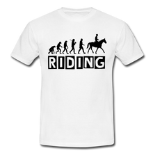 "Laden Sie das Bild in den Galerie-Viewer, T-Shirt ""Riding"" - Weiß"