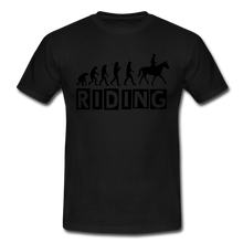"Laden Sie das Bild in den Galerie-Viewer, T-Shirt ""Riding"" - Schwarz"