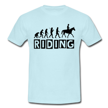 "Laden Sie das Bild in den Galerie-Viewer, T-Shirt ""Riding"" - Sky"