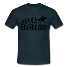 "Laden Sie das Bild in den Galerie-Viewer, T-Shirt ""Riding"" - Navy"