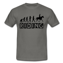 "Laden Sie das Bild in den Galerie-Viewer, T-Shirt ""Riding"" - Graphite"