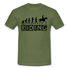 "Laden Sie das Bild in den Galerie-Viewer, T-Shirt ""Riding"" - Militärgrün"