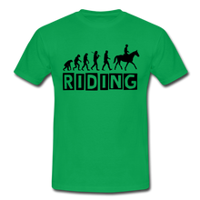 "Laden Sie das Bild in den Galerie-Viewer, T-Shirt ""Riding"" - Kelly Green"