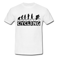 "Laden Sie das Bild in den Galerie-Viewer, T-Shirt ""Cycling"" - Weiß"