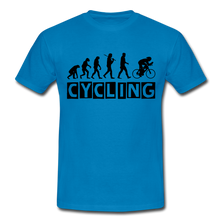 "Laden Sie das Bild in den Galerie-Viewer, T-Shirt ""Cycling"" - Royalblau"