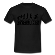 "Laden Sie das Bild in den Galerie-Viewer, T-Shirt ""Cycling"" - Schwarz"