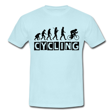 "Laden Sie das Bild in den Galerie-Viewer, T-Shirt ""Cycling"" - Sky"