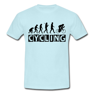 "T-Shirt ""Cycling"" - Sky"