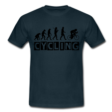"Laden Sie das Bild in den Galerie-Viewer, T-Shirt ""Cycling"" - Navy"