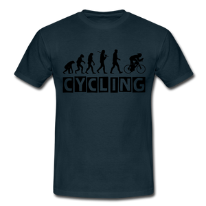 "T-Shirt ""Cycling"" - Navy"