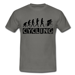 "T-Shirt ""Cycling"" - Graphite"