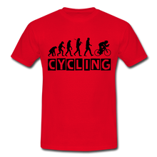 "Laden Sie das Bild in den Galerie-Viewer, T-Shirt ""Cycling"" - Rot"