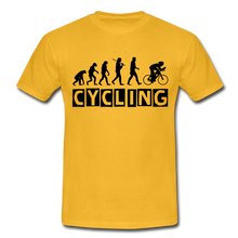 "Laden Sie das Bild in den Galerie-Viewer, T-Shirt ""Cycling"" - Gelb"