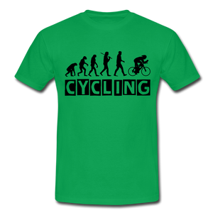 "T-Shirt ""Cycling"" - Kelly Green"