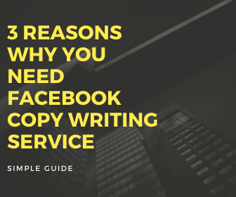 Why You Need Facebook Ad Copy writing Services