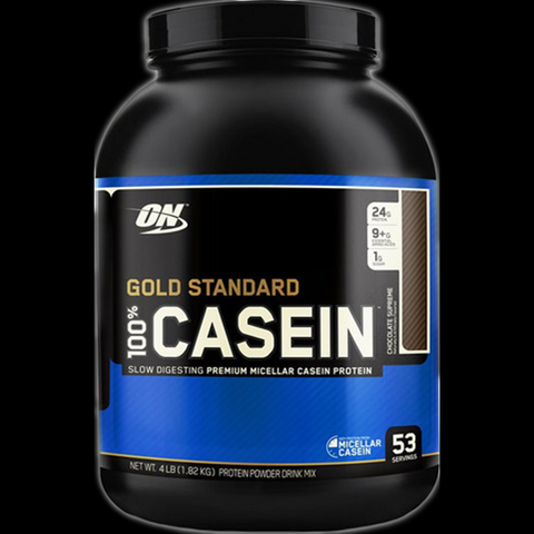 Optimum Nutrition 100% Casein Protein, 4lbs