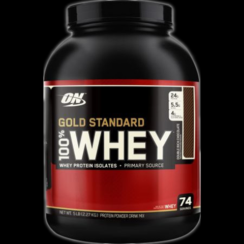 Optimum Nutrition Gold Standard 100% Whey Protein, 5lbs
